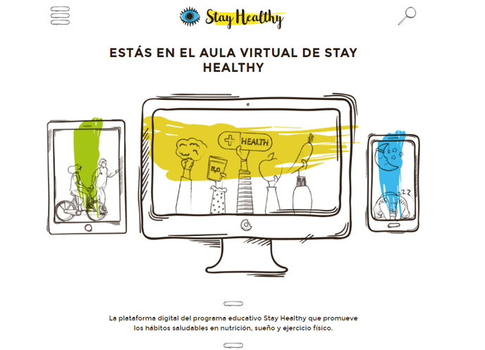 Aula Virtual Stay Healthy