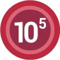 Diez a la quinta