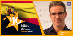 2017 @TeacherPrize Top 10 teacher