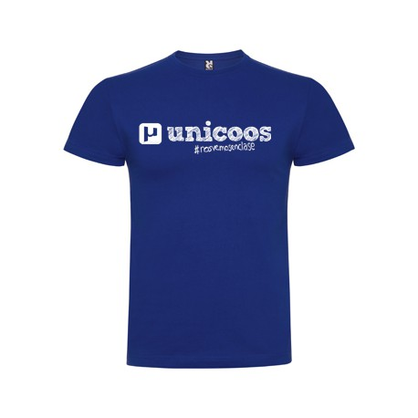 Camiseta chico unicoos azul