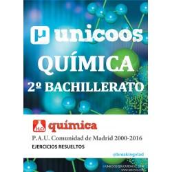 PAU QUÍMICA - 2º BACHILLERATO
